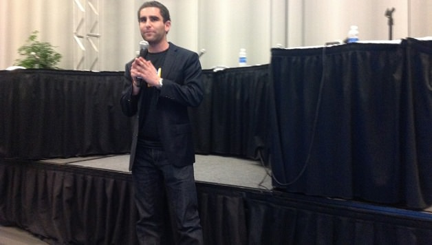 BitInstant's Charlie Shrem, photo by Carrie Kirby