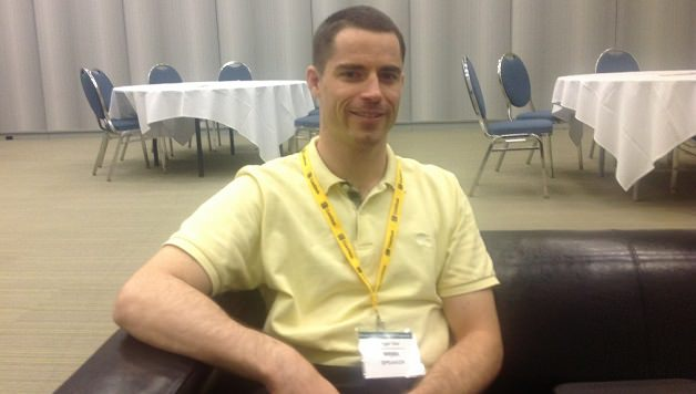 Roger Ver at Bitcoin 2013, photo by Carrie Kirby