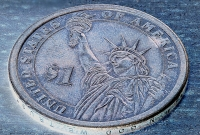 American $1 coin