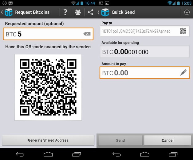 Review of Blockchain info Bitcoin Wallet for Android Mobiles
