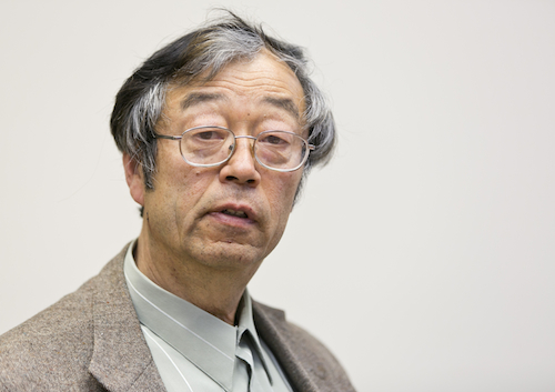 Dorian Satoshi Nakamoto is shown during an interview at the Associated Press bureau Thursday, March 6, 2014 in Los Angeles. Nakamoto, the man that Newsweek claims is the founder of Bitcoin denies he had anything to do with it and says he had never even heard of the digital currency until his son told him he had been contacted by a reporter three weeks ago. (AP Photo/Damian Dovarganes)