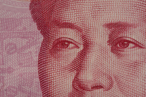 Chairman Mao's gaze on the 100 Yuan note. Source: Flickr