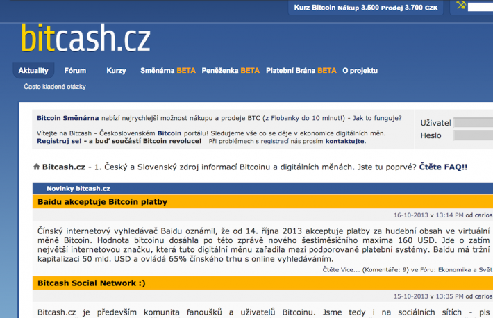 Czechoslovakia-based bitcoin exchange Bitcash.cz has been hacked and up to 4,000 customers' wallets have been emptied.