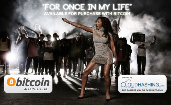 Mel B Single in Bitcoin