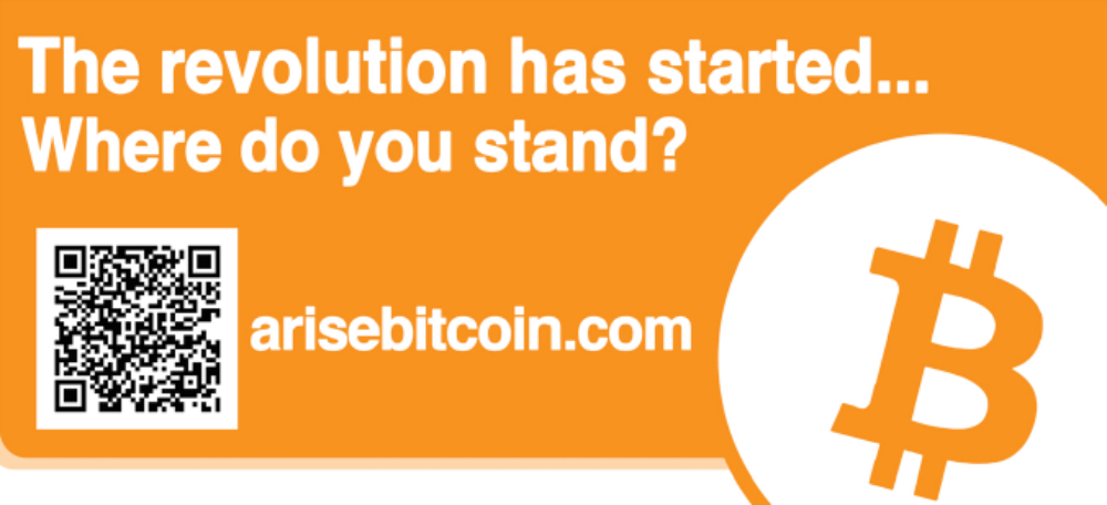 Arise Bitcoin Billboard