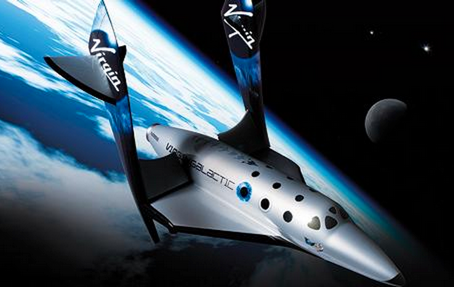Virgin Galactic's spaceship is called the Enterprise. Source: Telegraph