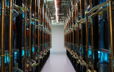 Bitcoin mining in Hong Kong. The ASIC BTC mining revolution has brought some big investment in 21E6. Source: CNN