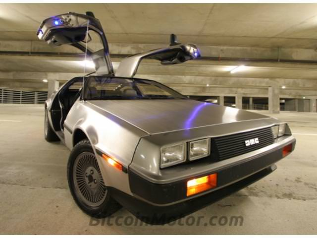 Back To The Future Fans Might Want Grab A 1981 Delorean Dmc 12 Which Is Also Available On Eggify For 24 Btc
