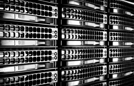 data-center-with-hard-drives