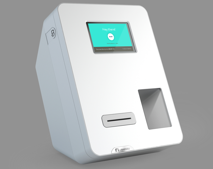 A close-up rendering of what the Lamassu bitcoin ATM looks like. Source: Lamassu