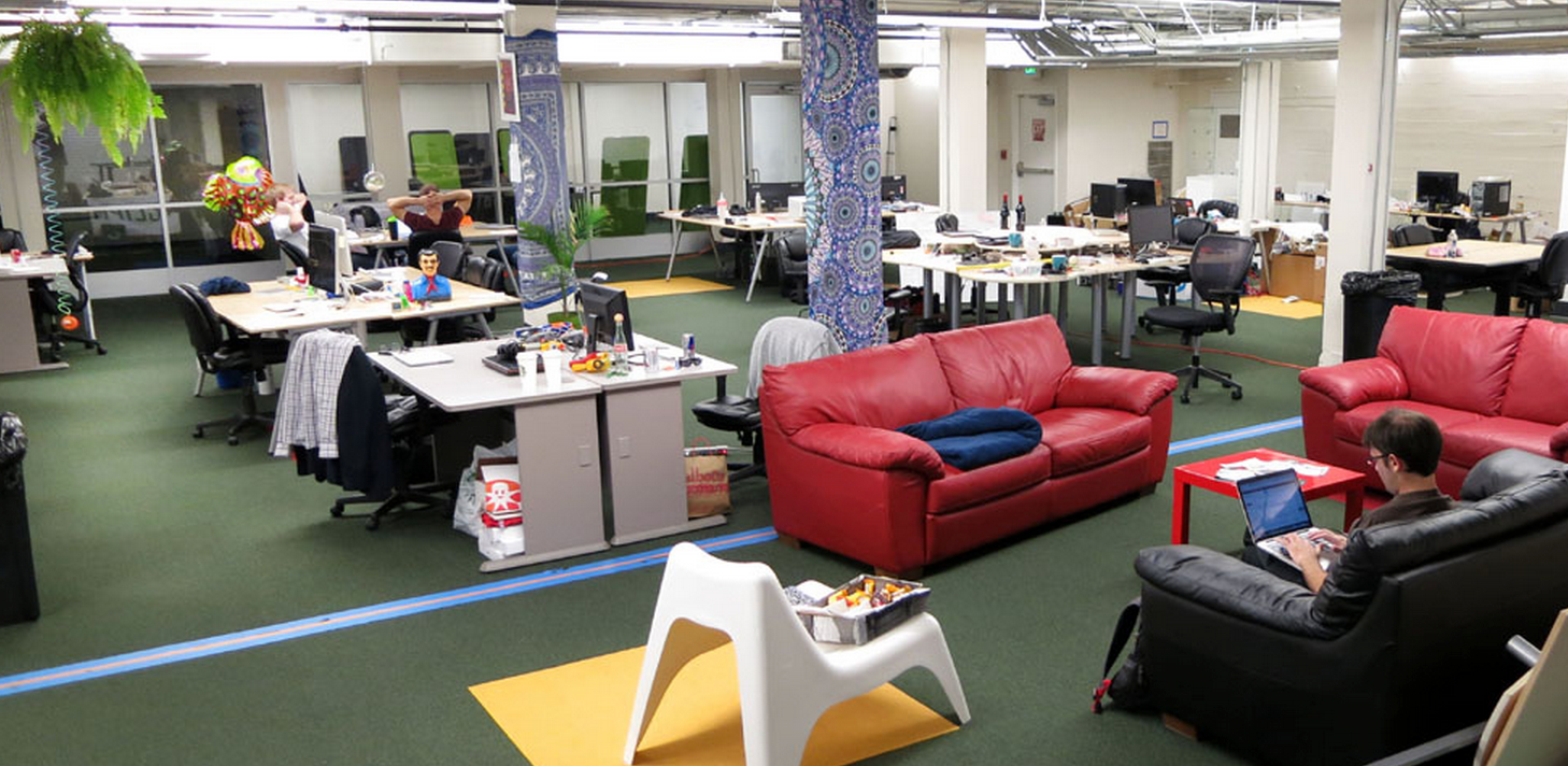 Boost VC's office space. Source: themuse