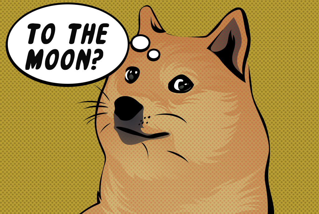 dogecoin - to the moon