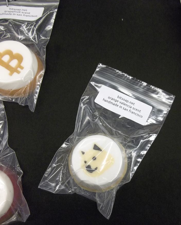 "Cryptocurrency-themed soap sold by <a href=""https://bitsoap.net/"" target=""_blank"">bitsoap.net</a>"