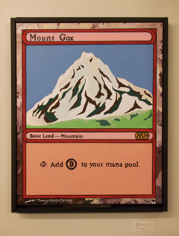 """Mount Gox"" by Thomas-Joseph Carrieri"