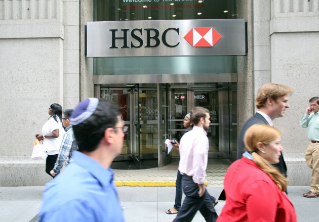 HSBC bank, New York