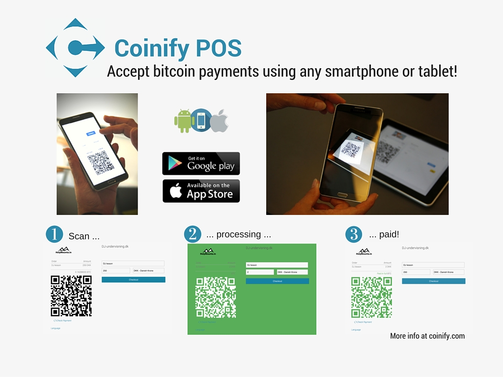 Bitcoin Retail Point of Sale systems