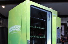 The first customer-facing marijuana vending machine to debut in the US will accept bitcoins as a form of payment.