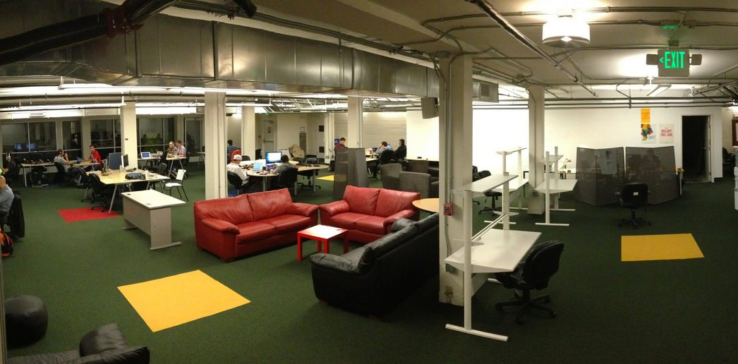 Boost VC's office space in downtown San Mateo. Source: 7Shifts