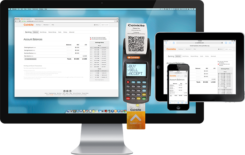 Coinkite Multi-Device POS