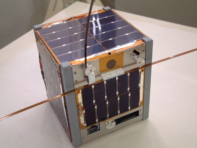 A Cubsat-based satellite. Source: University of Tokyo