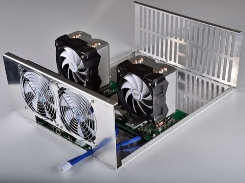 A rendering of the Mini Titan. Source: KNCMiner