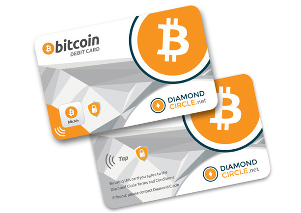 Diamond Circle Bitcoin Debit Card