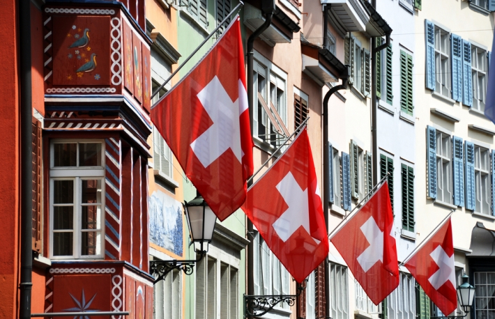 swiss-flags-shutterstock_57787423