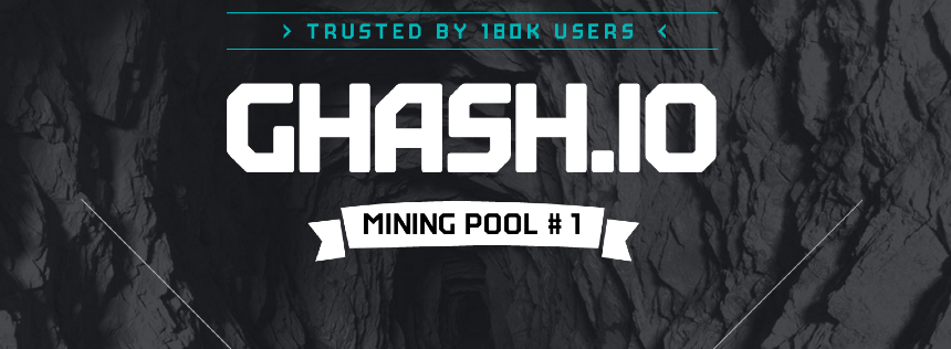 GHash.io advertises no fees and 24/7 support for miners that join its pool.