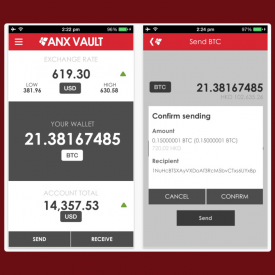 Bitcoin Exchange ANX Adds Features to iOS and Android Apps