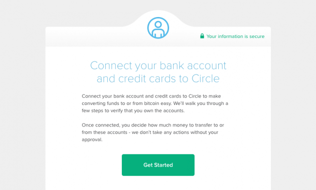 circle, connect account