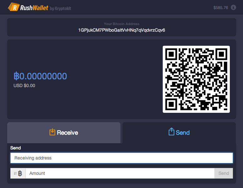 Fast Bitcoin Wallet