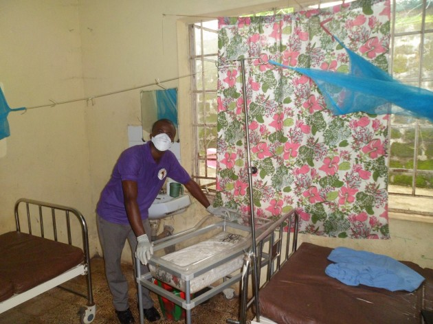 The Sierra Leone Liberty Group visits a local hospital