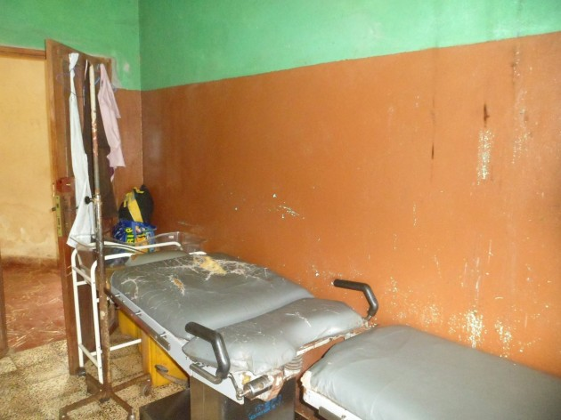 Conditions at a Sierra Leone local hospital