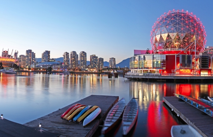 Skyline image of Vancouver Canada