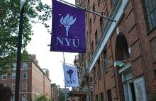 NYU Flag via Flickr / n0thing