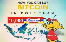 Indonesians can buy bitcoins at 10,000 convenience stores