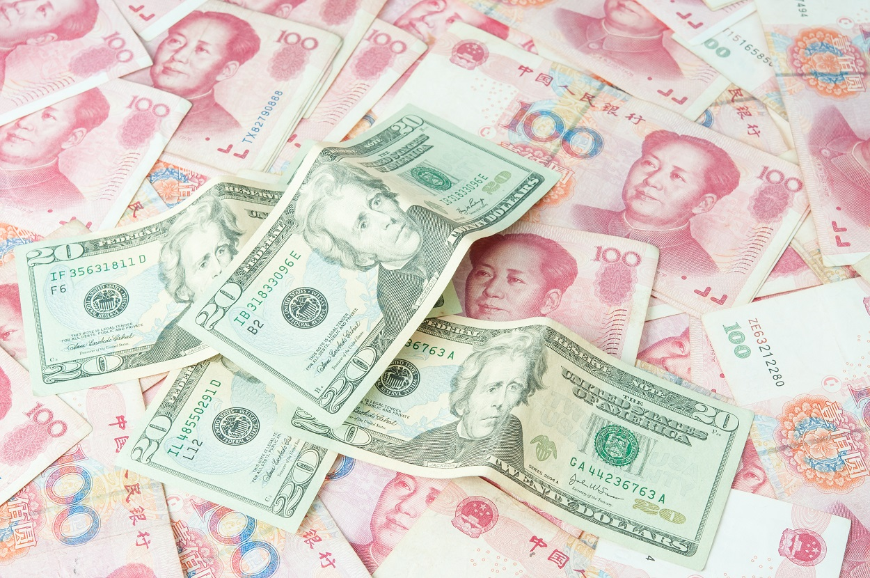 Yuan Trades Now Make Up Over 70 Of