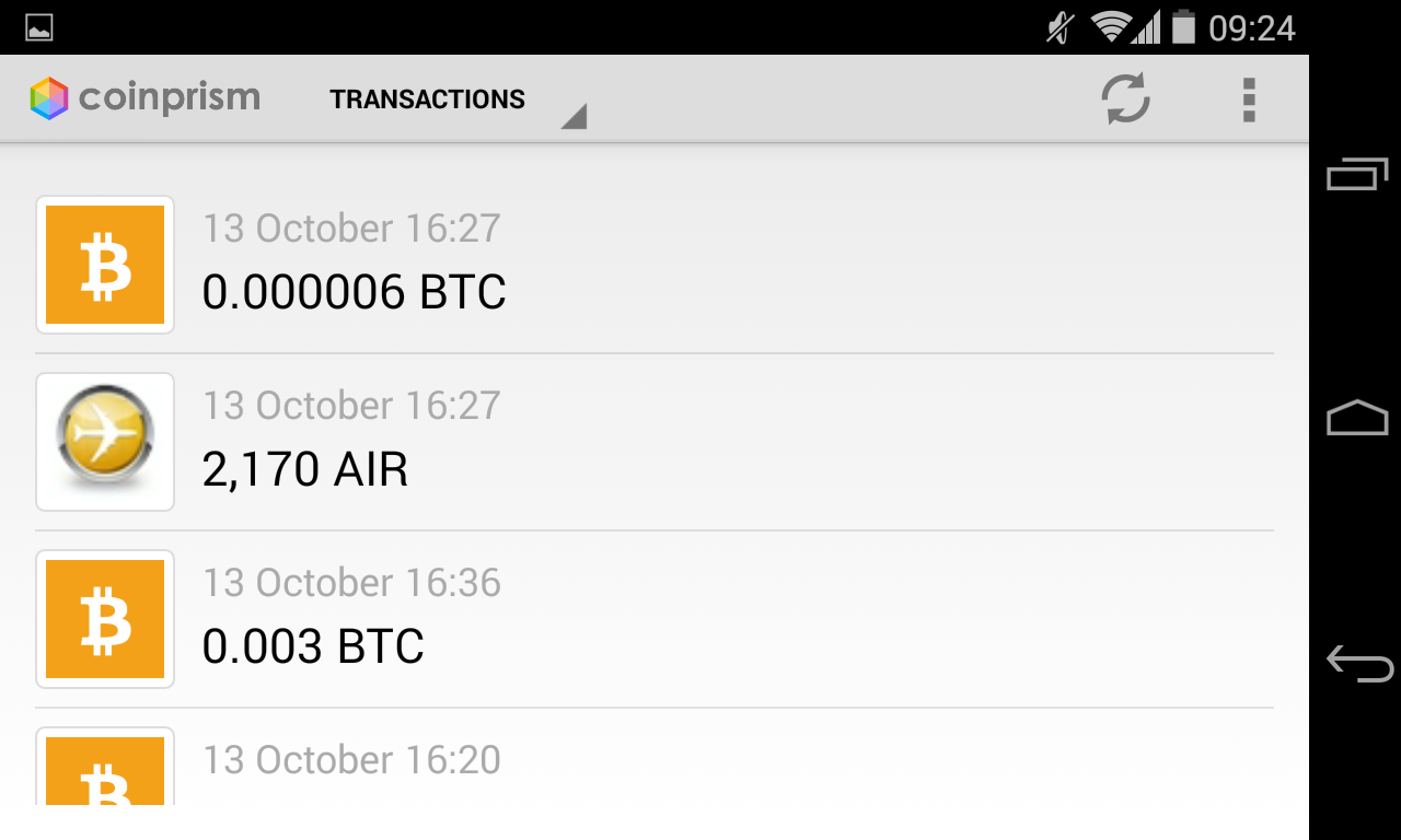 Coinprism Releases Colored Coins Android App for Mobile Asset Transfer