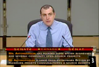 Andreas Antonopoulos answers questions on bitcoin from Canadian senators