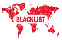 http://www.shutterstock.com/pic-215761570/stock-photo-red-blacklist-word-with-world-map-stamp.html?src=sS9DqHBkER1Ct23hiATymg-1-0