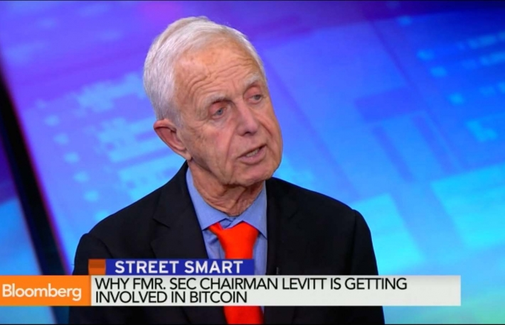 Screenshot of Arthur Levitt on Bloomberg TV's Street Smart.