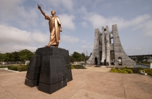 Kwame Nkrumah Memorial Park (KNMP) is a National Park in, Accra, Ghana named after Osagyefo Dr. Kwame Nkrumah, the founding father of Ghana.