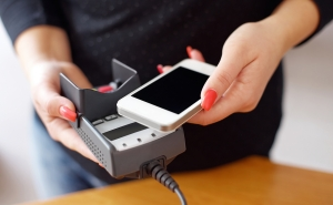 NFC POS system with phone