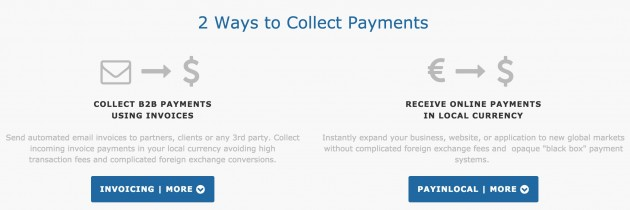In addition to invoicing, Align Commerce's Payinlocal may help entrepreneurs accept payments from more places.