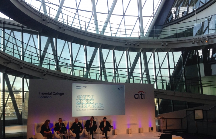 Citi Digital Money Symposium 2015 in London