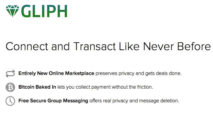 Gliph Marketplace Launches as 'Craigslist for Bitcoin'