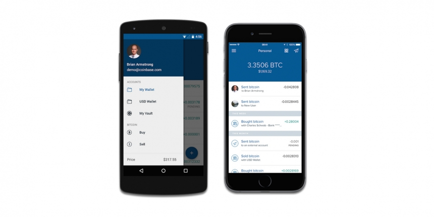 Coinbase Unveils iOS and Android App Redesign