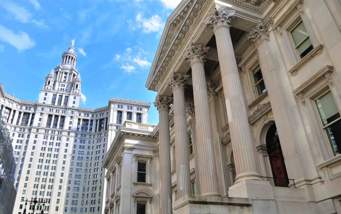 http://www.shutterstock.com/pic-76196569/stock-photo-tweed-courthouse-and-municipal-building-in-downtown-new-york-city.html?src=lTFWv9_w3kZA60o38sWS9Q-1-13&ws=0