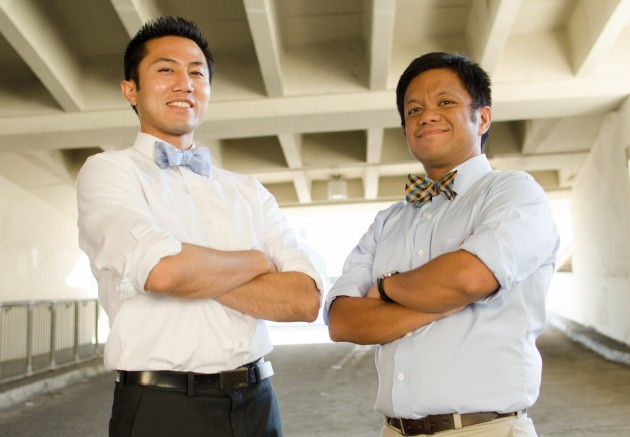 (L-R) Co-founders Gamido, and