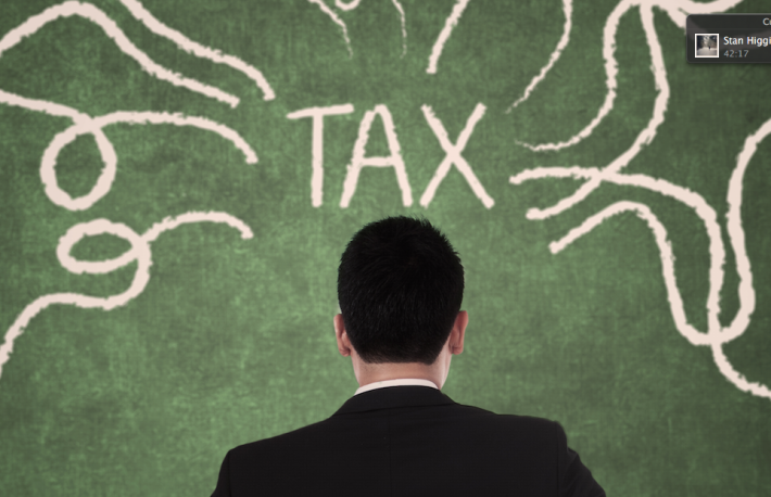 http://www.shutterstock.com/pic-170812631/stock-photo-concept-of-businessman-thinking-with-arrows-coming-from-tax.html